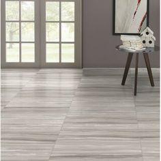 "Emser Tile Ciudad 2"" x 2"" Ceramic Mosaic Tile | Wayfair Modern Floor Tiles, Best Floor Tiles, Grey Wood Floors, Wood Flooring, Installing Hardwood Floors, Ceramic Mosaic Tile, Tile Trim, Wood Look Tile, Engineered Stone"
