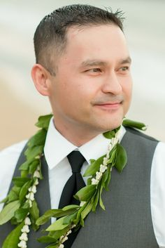White orchids, Flower lei and Flower on Pinterest
