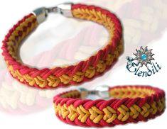 Flat Kumihimo Bracelet