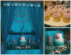 Under the sea birthday party theme idea