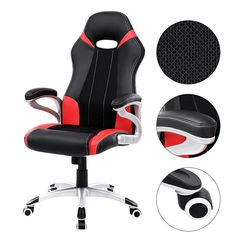 Ergonomicky tvarovaná židle RACER se sportovním designem.
