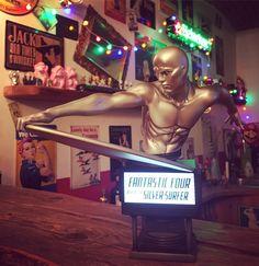 Surfin' through the Marvel Universe 🏄  #artist #artistlife #artgallery #collector #collection #nerd #geek #fantasticfour #silversurfer #riseofthesilversurfer #marvel #marvelcomics #limitededition #limited #marvelstudios #bust #fineart #comic #fantastic4 #nerdstuff