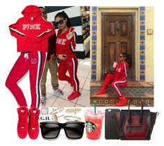 """RED."" by dopegenhope ❤ liked on Polyvore featuring Victoria's Secret, Nordstrom, NIKE, OPTIONS, westbrooks, indialove, indialovewestbrooks, illyil and thewestbrooks"