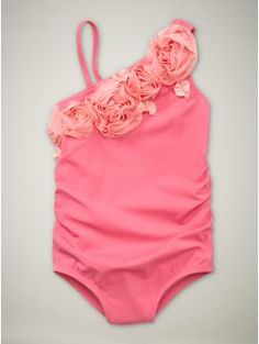 Love this swimsuit for my girls (also in lavender)  (on sale-$22.99)