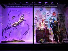 London Fashion Week Window Display #windowshopping