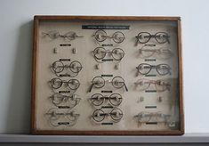 54eeb04fe0 Vintage NHS spectacle display cabinet A wonderful and most unusual NHS  cabinet for displaying spectacles to patients.