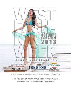 West Fashion Week Spring Summer Resort2014 @ Aguadilla #sondeaquipr #annjannette #westfashionweek #primaveraverano #modelaje #courtyardbymarriott