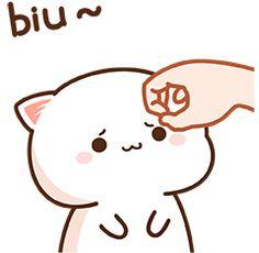 Cute Love Pictures, Cute Cartoon Pictures, Cute Love Gif, Cute Images, Cute Kawaii Animals, Kawaii Cat, Kawaii Anime, Cute Bear Drawings, Kawaii Drawings