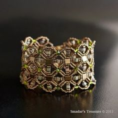 free tila bead jewelry patterns, integrating nets bracelet ...