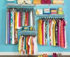 This year, get your closet in order with Rubbermaid Home-Free Closet System! Its adjustable parts let you customize, reconfigure, or expand your closet to fit exactly what you need.