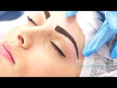 Eyebrow Microblading Step by Step with Soula Koutsogiannaki - YouTube