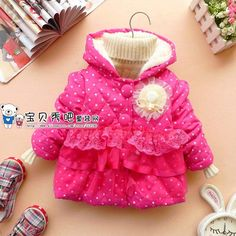 Aliexpress.com : Buy 2013 Sunlun Free Shipping children's winter jackets Cap and Bowknot Cotton Thickening Coat, Girl's winter jacket SCG 3053 from Reliable girls clothes suppliers on Sunlun Wholesale And Retail Center $19.22