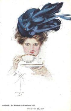 Tea with Harrison Fisher « Read, Seen, Heard