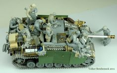 """Farewell of the Faith"" 1/35 scale. W.I.P.  By Volker Bemmbennek. German StuG III G. Hungary 1st November 1944. #WW2 #scale_model #diorama #figure_model"