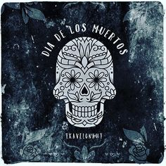 It\'s officially the Day of the Dead! November 2 is Dia de los Muertos. Contrary to what you\'ve been told there\'s nothing morbid about it it\'s a celebration and remembrance of the dead! #dayofthedead #diadelosmuertos #Holiday #mexico #spanish #mexican #dead #festival #newmexico #mex #candyskull #skull #instaart #illustration #graphicart #greeting #festive #remembrance #remember #memorial