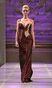 Leila Wazna défilé couture NYC #lasemainedelamode #robe #femme #automnehiver2013 #mode #leilawazna