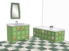 bath panel painted bathrooms panel walls vanity units bathroom furniture wall mirror style ideas vanities service