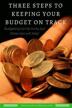 Here are three simple steps to getting your budget going! via @maximizemoney