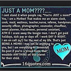 I am a proud mom
