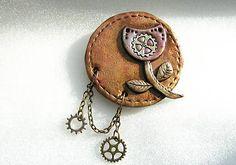 zuKa_sunny / rozkvitni Sunnies, Steampunk, Pendant Necklace, Handmade, Jewelry, Fashion, Moda, Hand Made, Jewlery