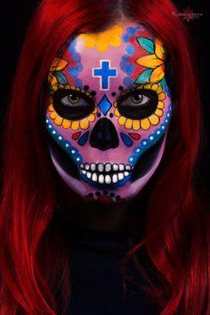 Sugar skull by Annestern.deviantart.com on @DeviantArt