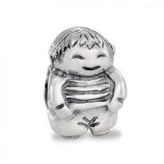 LY3967 Pandora Silver Boy Charm