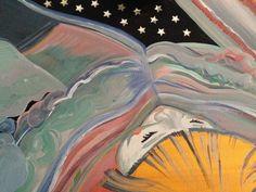 Original People Painting by Lucy Finchett-maddock Is 11, Saatchi Art, Original Paintings, Bronze, Celestial, Canvas, Artist, Tela, Artists