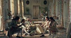 In the Petit Trianon  Marie Antoinette, I love this movie