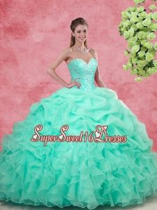 e6bc1629b4e Buy discount sweetheart apple green quinceanera gowns with beading from  classical quinceanera dresses collection
