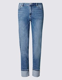 Relaxed Slim Leg Jeans | M&S