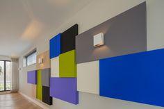 Akoestische panelen voor wand en plafond, CVOUSPLAIT akoestiek ...