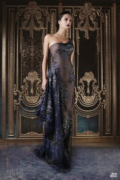 Evening gown, couture, evening dresses, formal and elegant Rami Kadi HOUTE COUTURE SPRING/SUMMER 2013