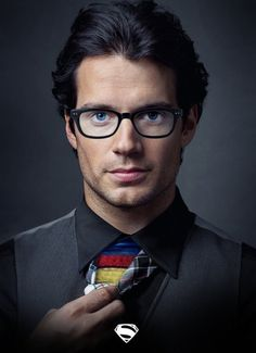 Henry Cavill...he makes one hot superman