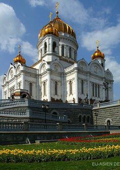 Christ-Erlöser-Kathedrale in Moskau, Russland