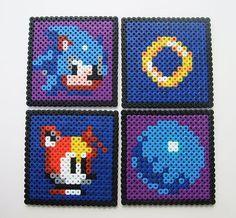 hama bead design coaster - Google Search