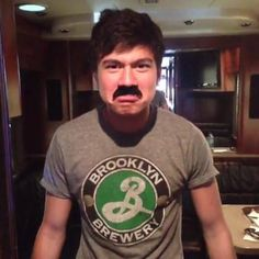 I was scrolling down real fast and i thought this was a picture of a mexican man and i was like wtf XD