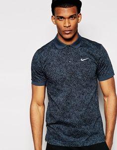 2e96e64ea1 Nike Speckle Polo Shirt Polo Shirt Style