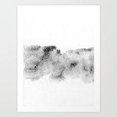 plain scenery Art Print