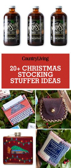 Save these great Christmas stocking stuffer ideas for later! Don't forget to follow Country Living on Pinterest for more Christmas ideas.