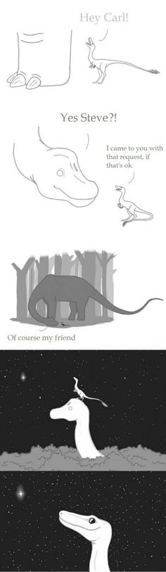 Funny pictures about Dinosaurs And Stars. Oh, and cool pics about Dinosaurs And Stars. Also, Dinosaurs And Stars photos. Sheldon The Tiny Dinosaur, Dinosaur Dinosaur, Tumblr Funny, Funny Memes, Funny Gifs, Funny Animals, Cute Animals, Cute Stories, Wow Art