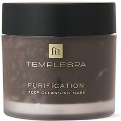 Pin for Later: Say Bye-Bye to Blackheads Without Squeezing a Single Spot Temple Spa Purification Mask Temple Spa Purification Mask (£22)