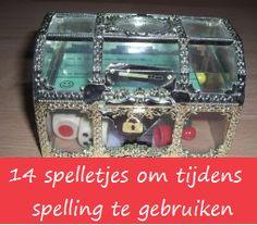 Spelling schatkist met spelletjes