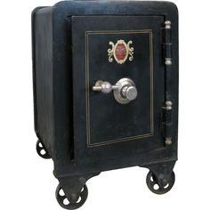 antique safes on pinterest irons locks and side tables. Black Bedroom Furniture Sets. Home Design Ideas