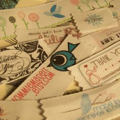 DIY clothing labels ideas