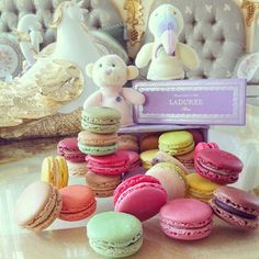 Ladurée - the most exquisite macarons and desserts you will ever taste