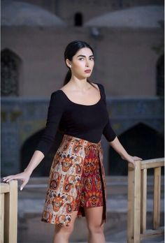 Persian Termeh skirt