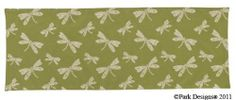 "Park Designs Reversible Table Runner 13x36 Sage Green Dragonfly by Dragonfly. $20.99. Sage Green with Cream Stitched Dragonfly Reverse Solid Sage Green. Durable - Machine Washable. Park Designs Reversible Flat Table Runner 13x36. 100% Woven Cotton 13"" x 36"". Casual enough for everyday, Classy enough for Special Occassions. These durable and attractive reversible quilted table runners are made of 100% high quality cotton. Reverse to solid coordinating color."