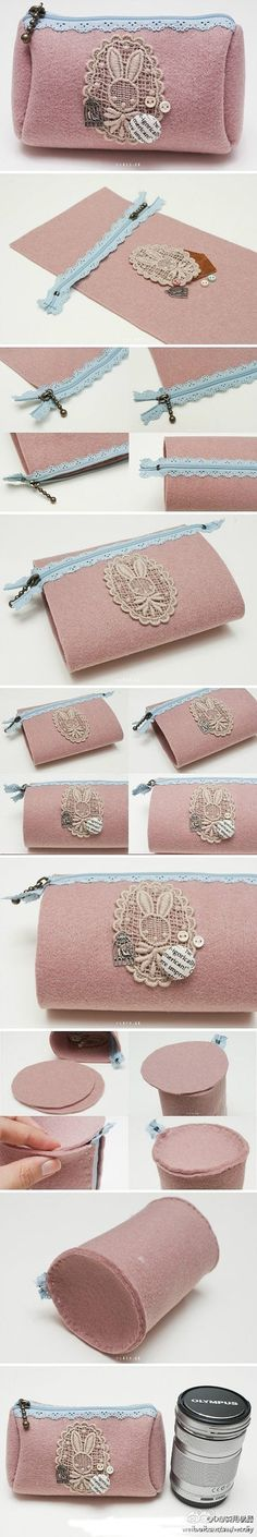 Sewing tote bag... ♥ Deniz ♥