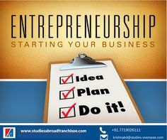 Become an #Entrepreneur- Get Help Starting Your Study Abroad #Franchisee Business!! #studyabroad