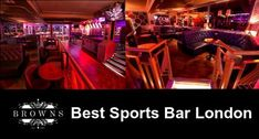 Are you looking to book a sports events bar in London? Browns Shoreditch is the best sports events bar in London which you can book your table online. #Sportseventsbarlondon  #Brownsshoreditch Sports Bar London, Stage Show, Pole Dancing, Events, Entertaining, Strip Clubs, Books, Watch, Join